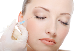Botox, anti-wrinkle injection, happy woman clinic, Dublin